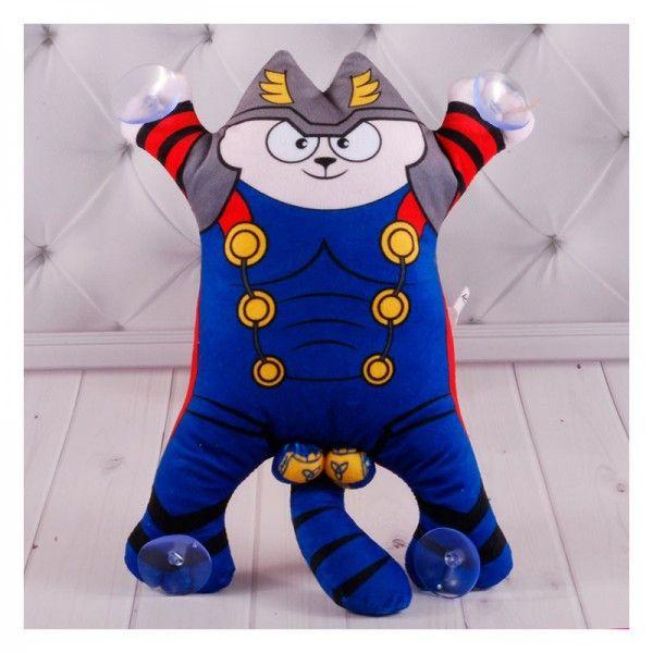 Мягкая игрушка на присосках Копиця Котик Тор 00284-122 30 см