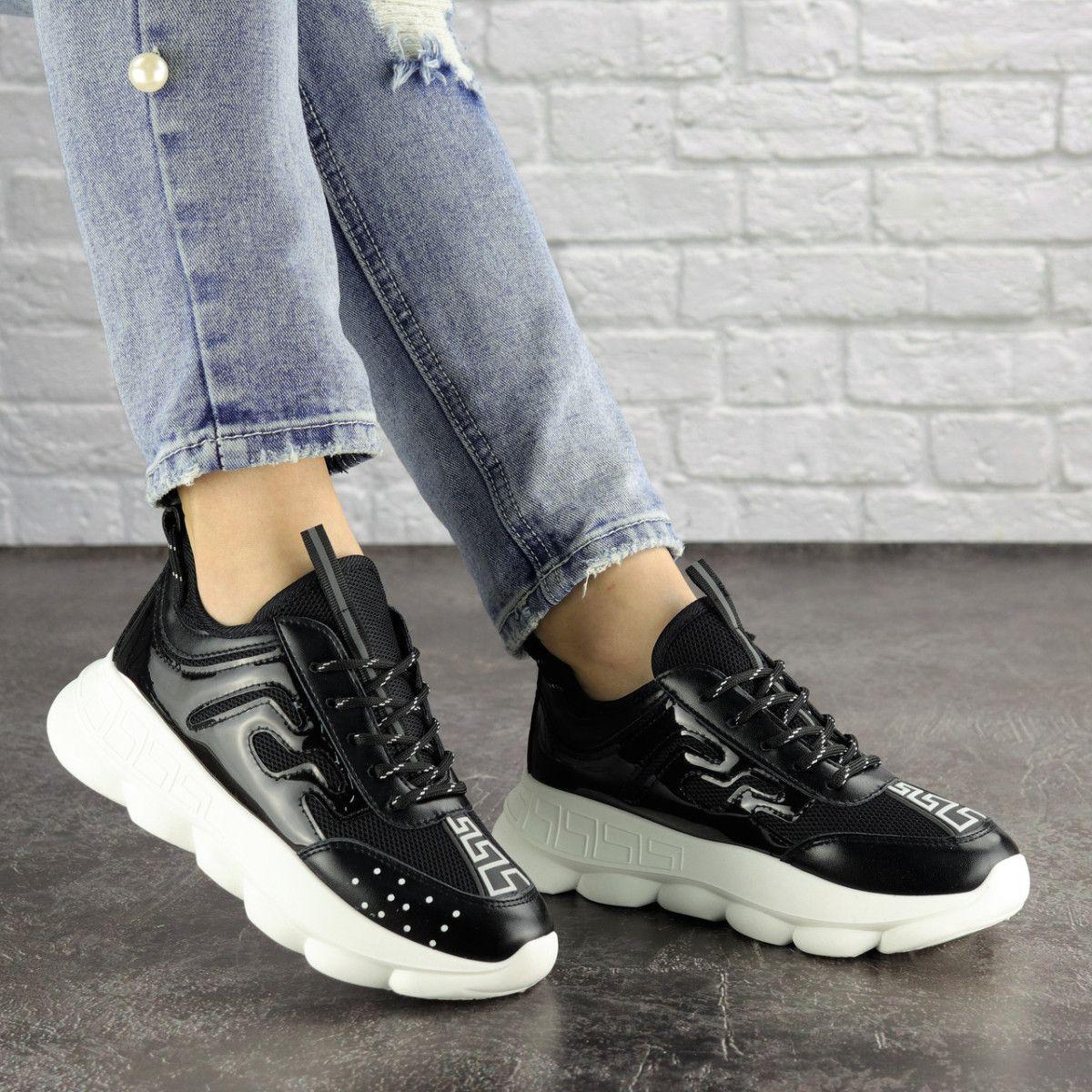 Женские кроссовки Fashion Vince 1679 36 размер 22 см Черный