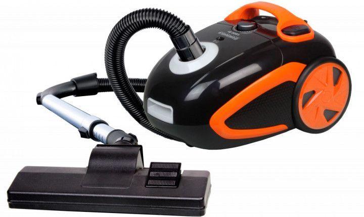 Купить Пылесос оранжевый Grunhelm GVC-8217-O