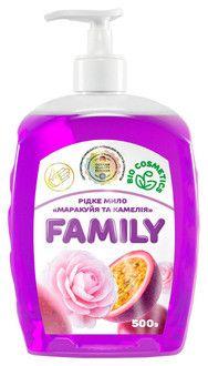 Жидкое мыло Маракуйя и камелия For my Family 722430 500 мл