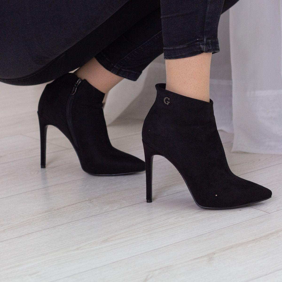 Ботильоны женские Fashion Gale 2472 38 размер 24,5 см Черный
