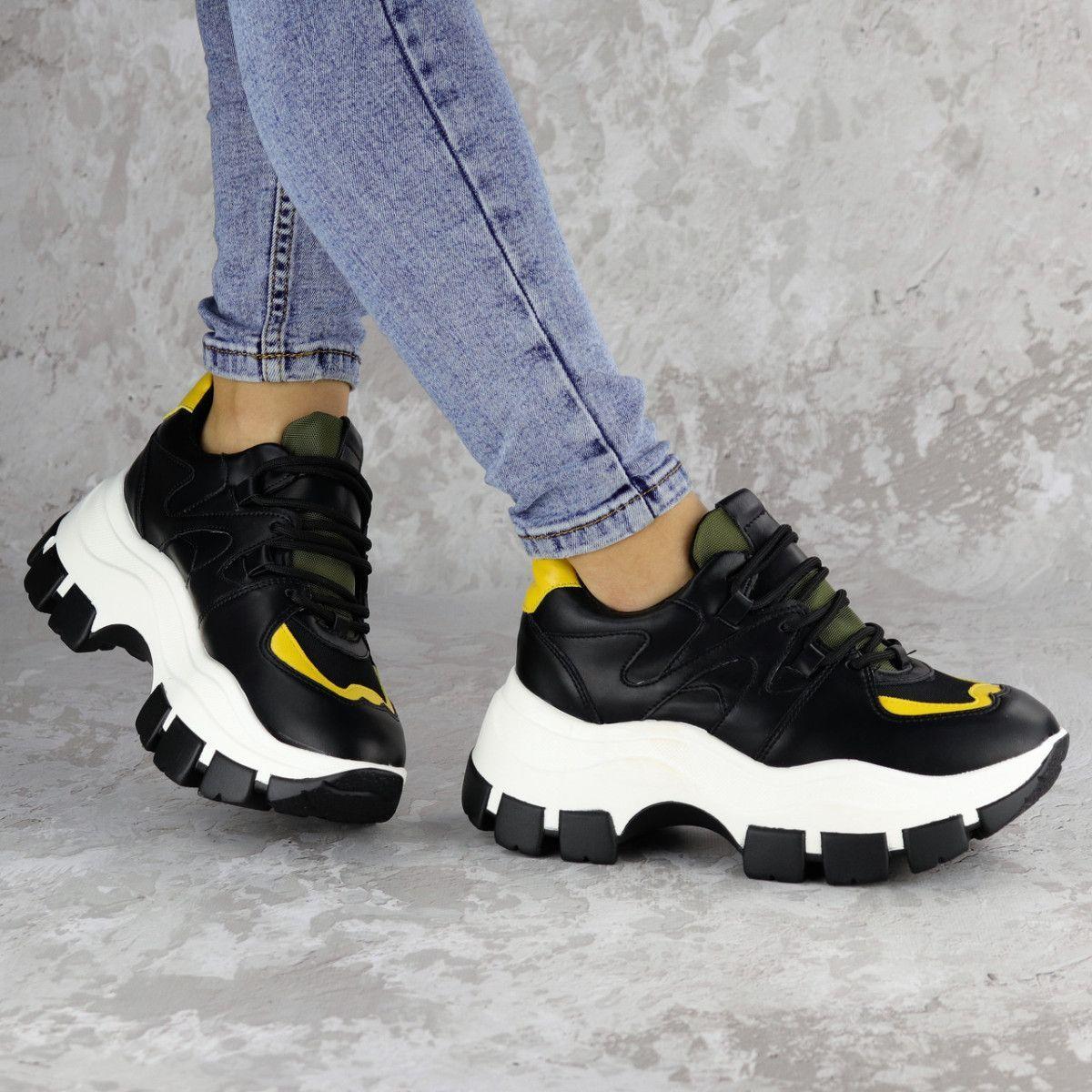 Сникеры женские Fashion Andre 2173 36 размер 22,5 см Черный