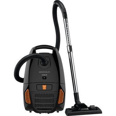 Пылесос Grunhelm GVCM-244-BO 2400 Вт черный с оранжевым