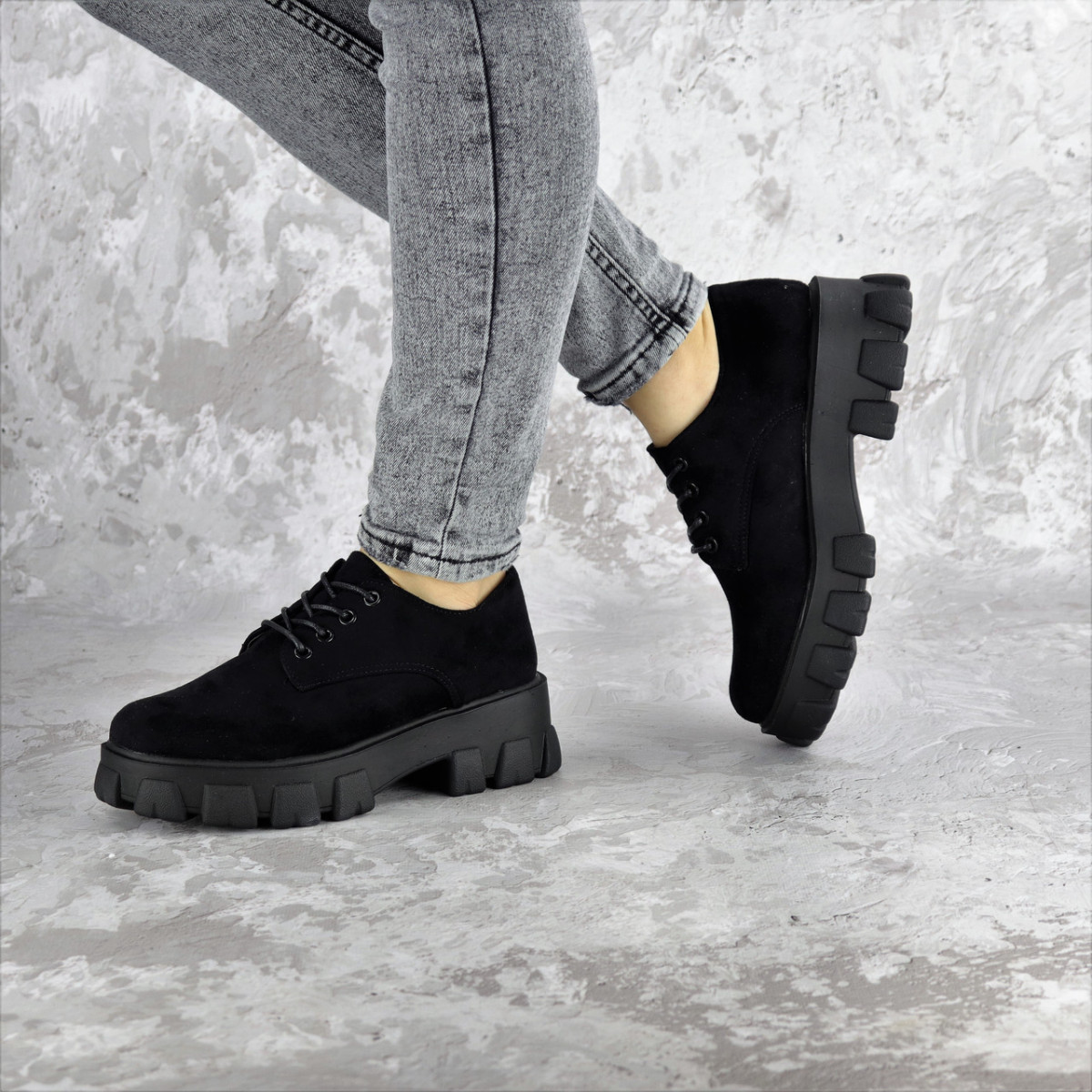 Туфлі жіночі Fashion Chomper 2340 41 розмір 26 см Чорний