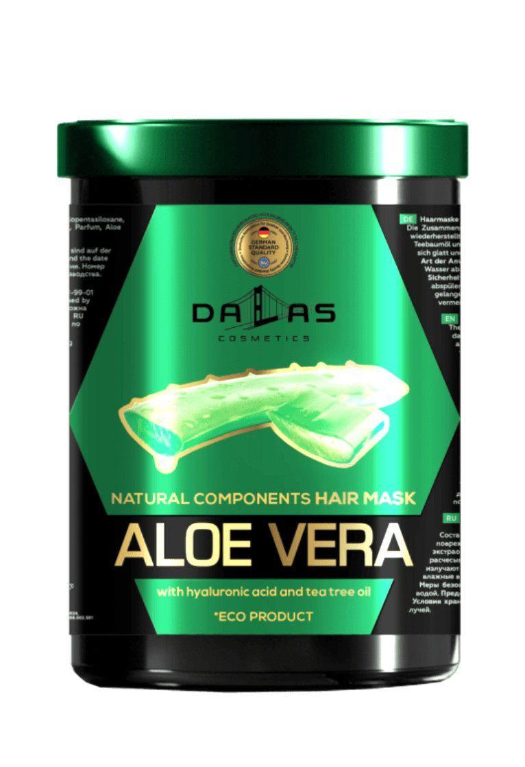 Маска для волос Dalas Natural Components с гиалуроновой кислотой соком