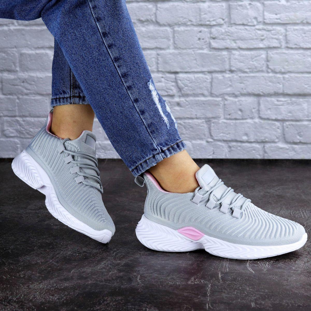 Женские кроссовки Fashion Ripple 1730 40 размер 25,5 см Серый Размер 40 - 25,5 см