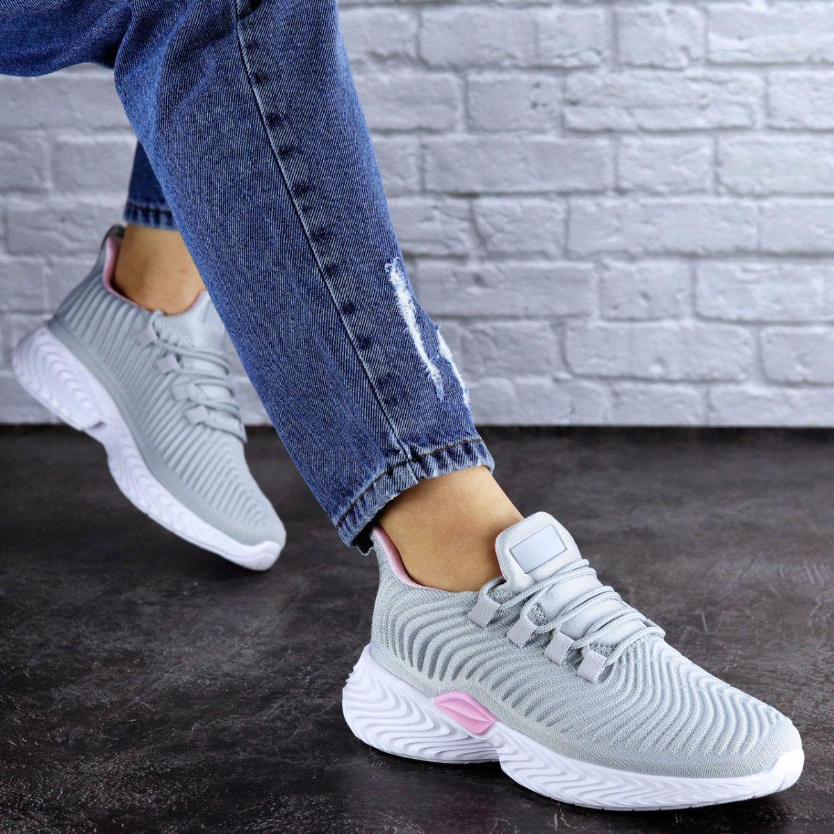 Женские кроссовки Fashion Ripple 1730 38 размер 24,5 см Серый Размер 38 - 24,5 см