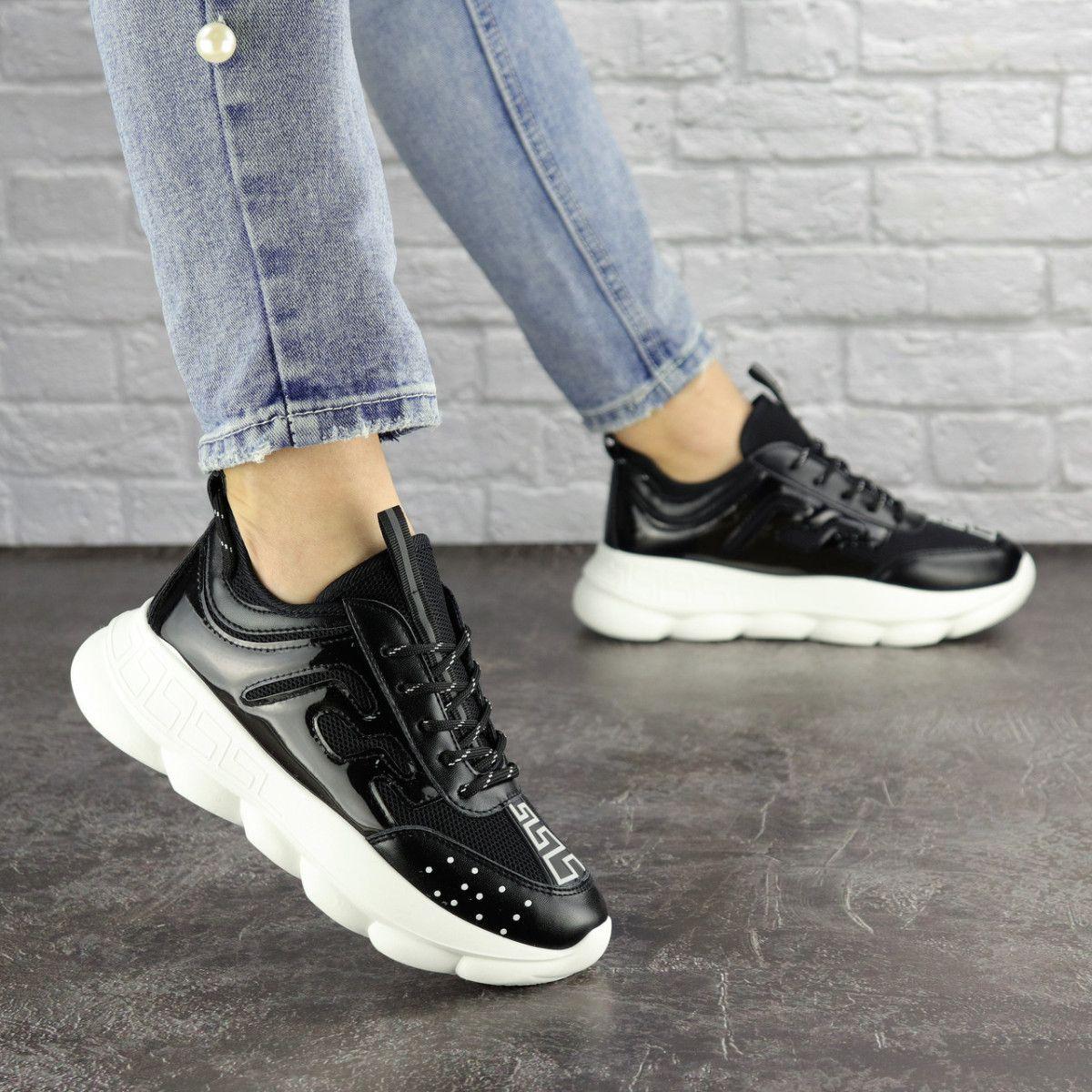 Жіночі кросівки Fashion Vince 1679 36 розмір 22 см Чорний