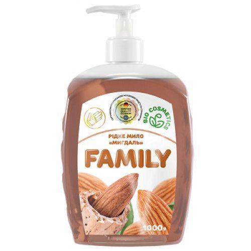 Жидкое мыло Миндаль For my Family 722447 1 л