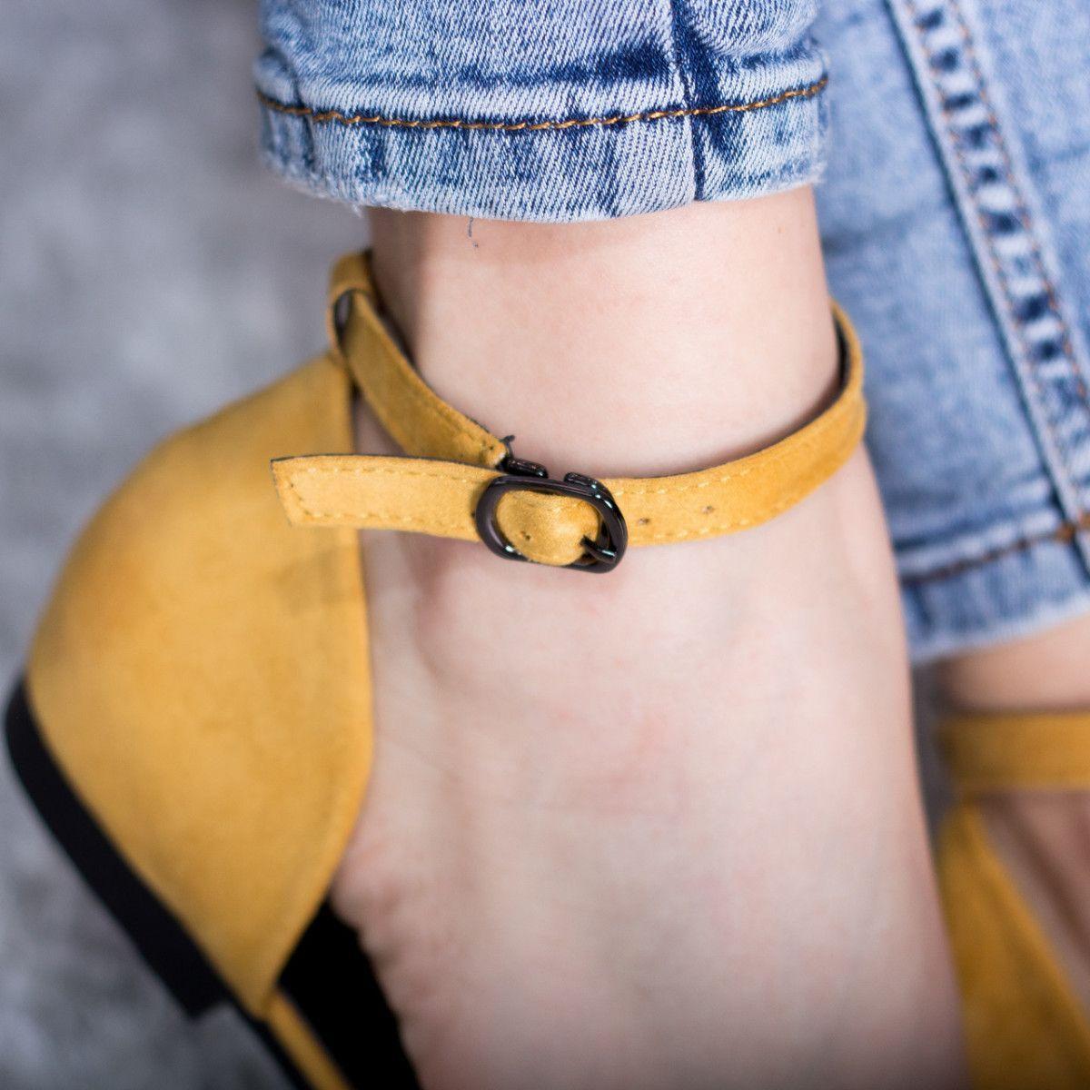 Туфлі жіночі Fashion Euki 2782 39 розмір 25 см Жовті