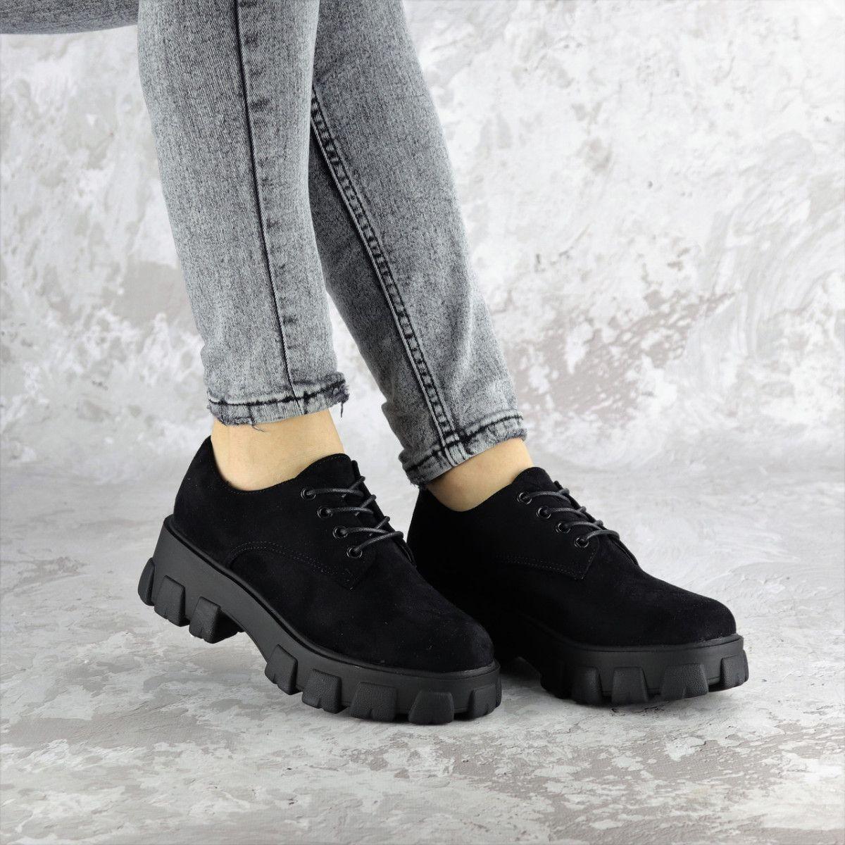 Туфли женские Fashion Chomper 2340 41 размер 26 см Черный