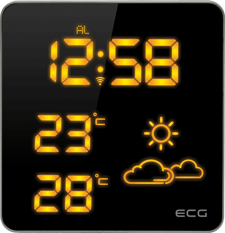 Метеостанция Ecg MS-007-Orange