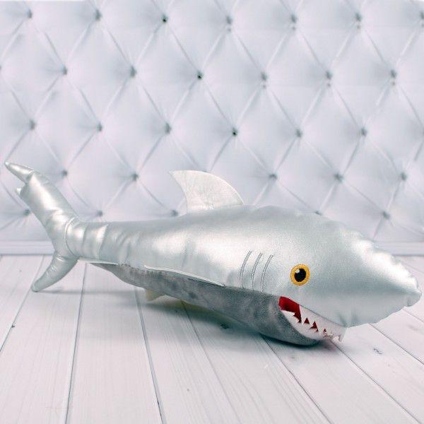 Мягкая игрушка Копиця Акула Silver 00594-3 52x12x10 см