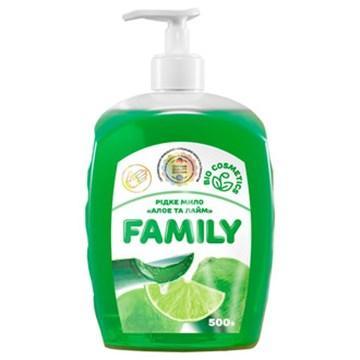 Жидкое мыло Алоэ и лайм For my Family 722478 500 мл