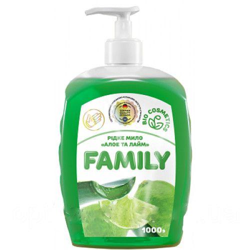 Жидкое мыло Алоэ и лайм For my Family 722461 1 л