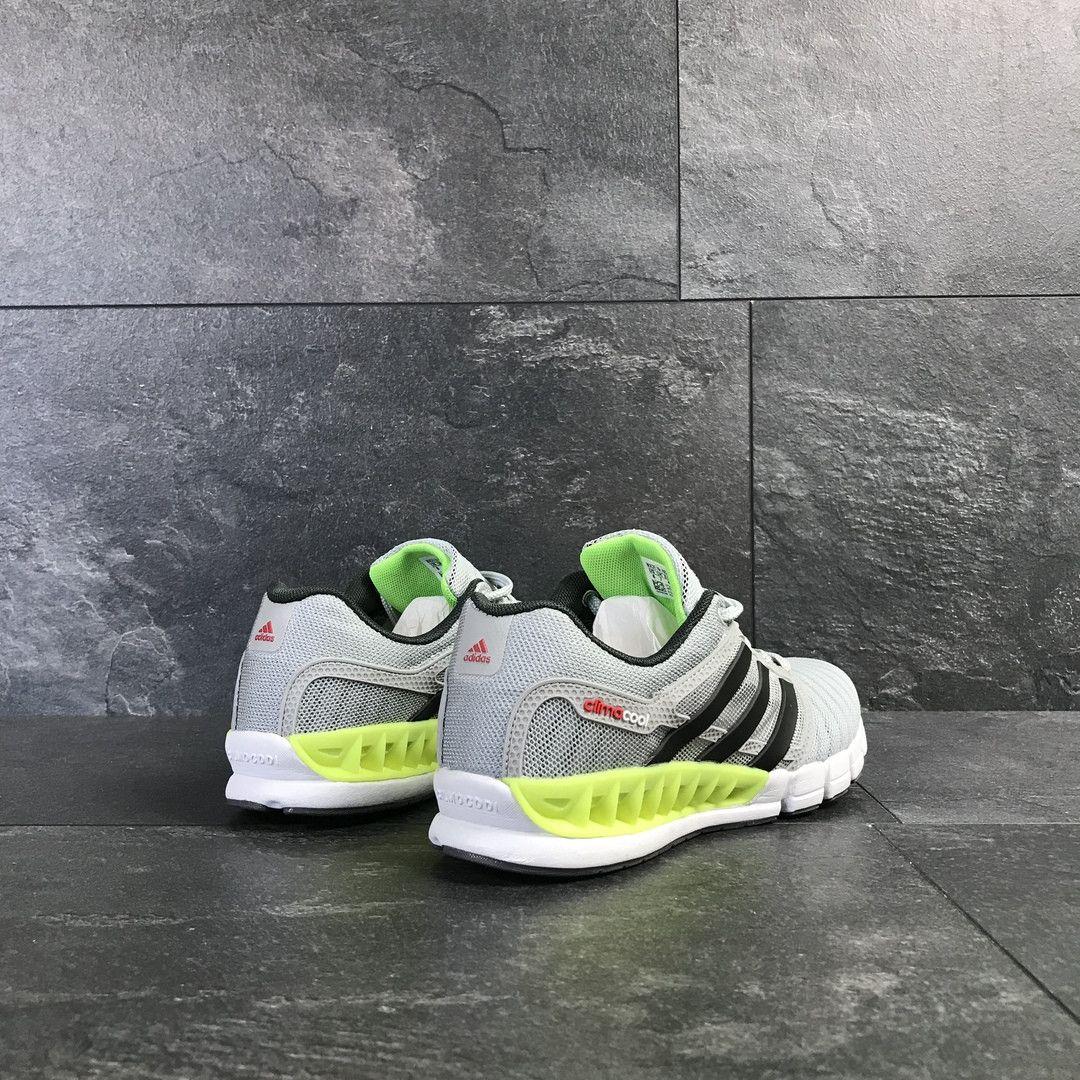 82e8dedb4be78b ... Мужские кроссовки светло серые с салатовым Adidas Clima Cool 7775 6