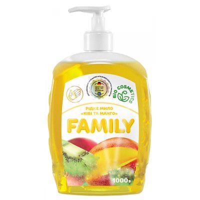 Жидкое мыло Киви и манго For my Family 722508 1 л