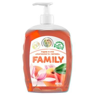 Жидкое мыло Магнолия и персик For my Family 722492 500 мл