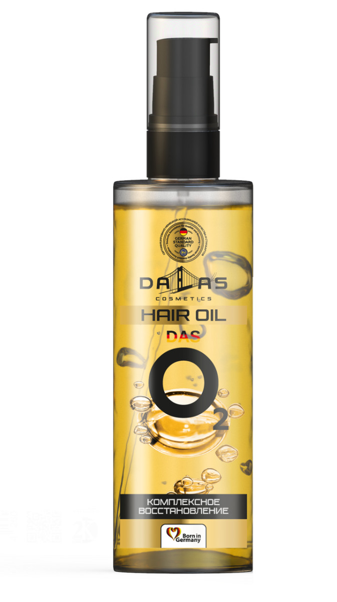 Масло для волос Dallas das O2 723864 100 г