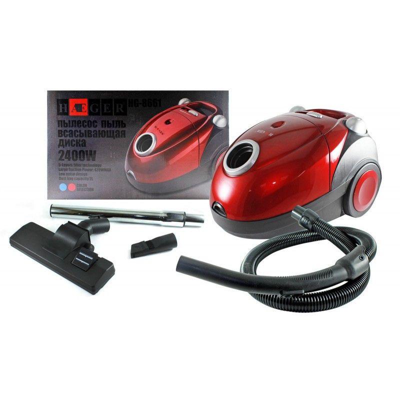 Пылесос Haeger HG-8661-Red 450 Вт