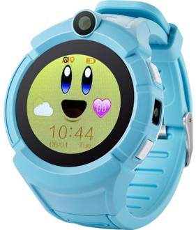 Смарт-часы UWatch GW600 Kid smart watch Blue #I/S