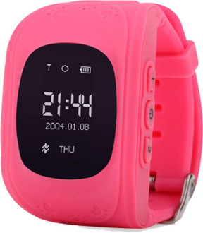 Смарт-часы UWatch Q50 Kid smart watch Pink #I/S