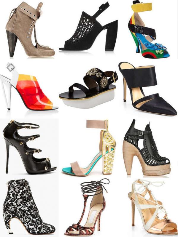модная летняя женская обувь фото