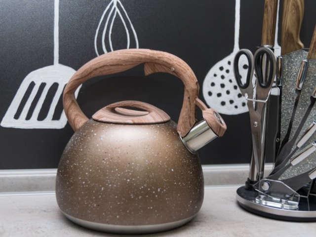 чайник на плиту фото