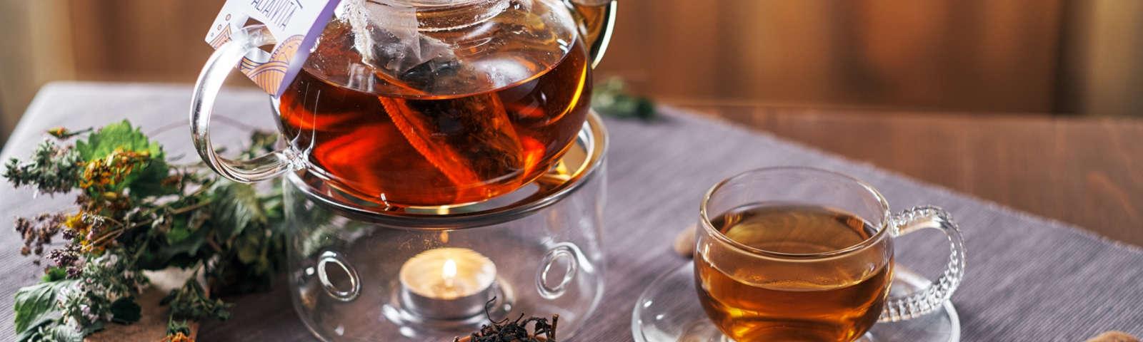 стеклянный чайный сервиз фото