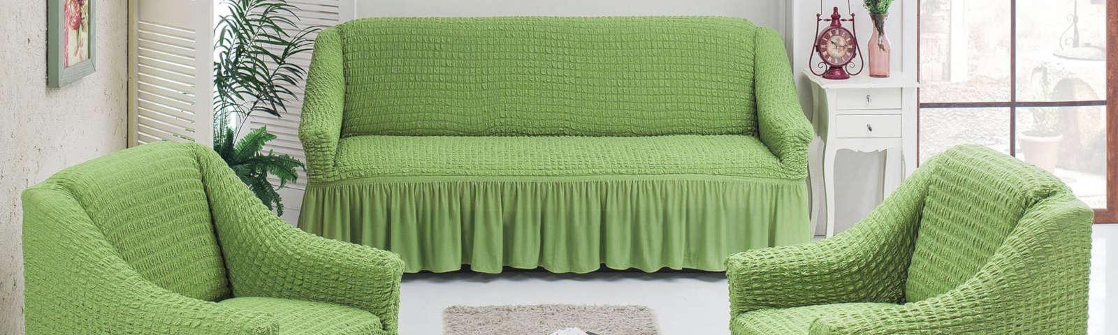 чехол на диван и кресла фото
