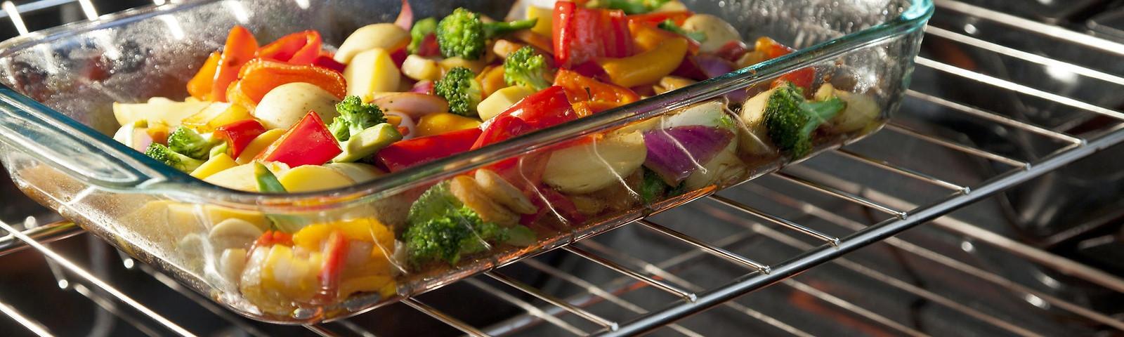 стеклянная посуда в духовку фото