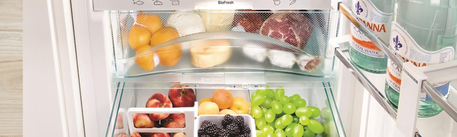 хранение продуктов в холодильнике фото