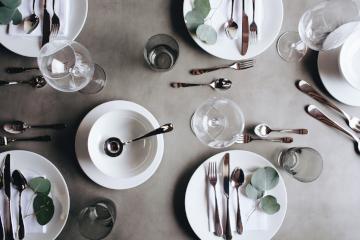 современные столовые приборы фото