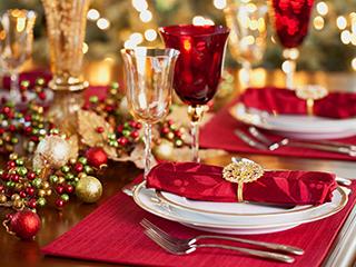 стол на рождество фото
