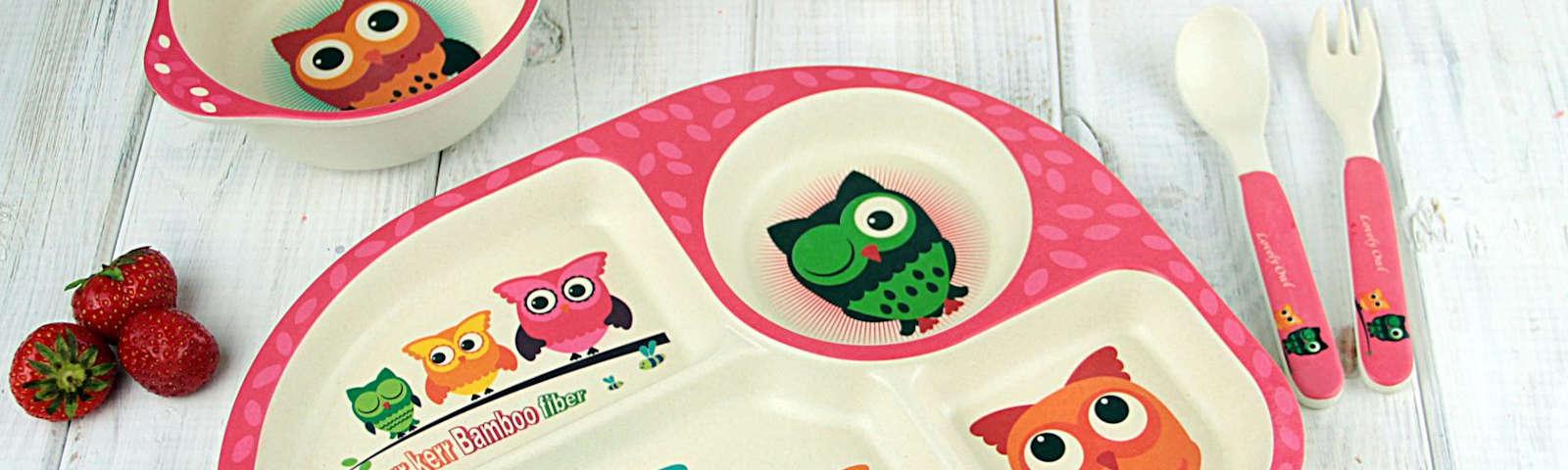 безопасная детская посуда фото