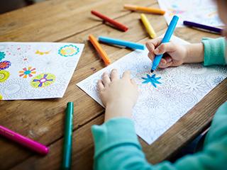 развивающая раскраска для детей фото