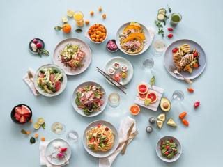сервировочные блюда фото
