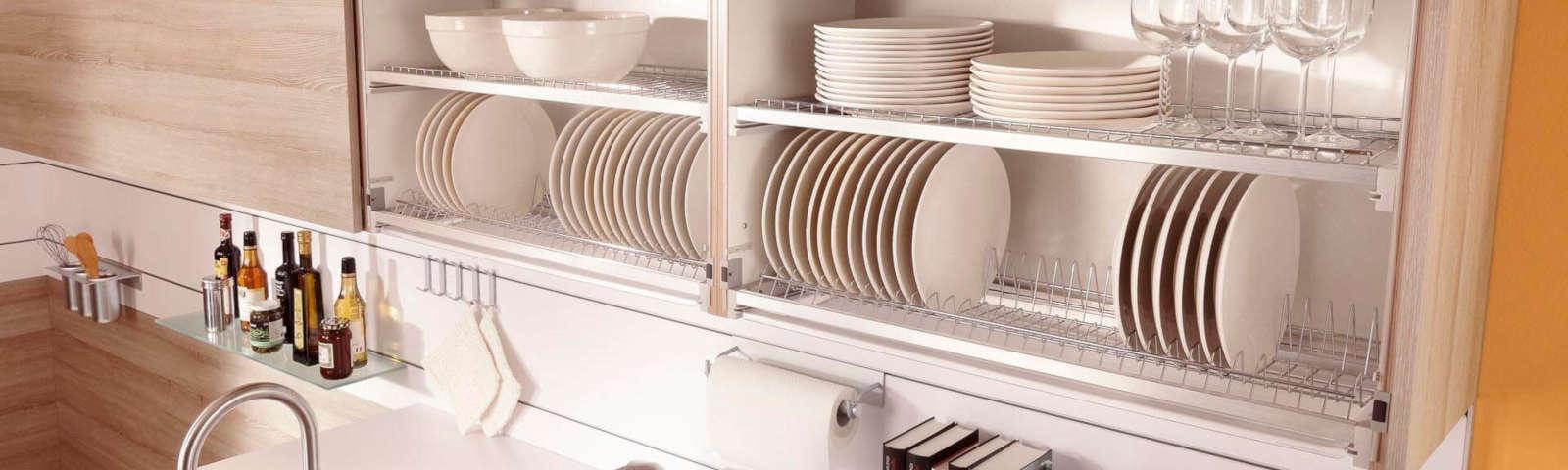 сушилка для посуды встраиваемая фото