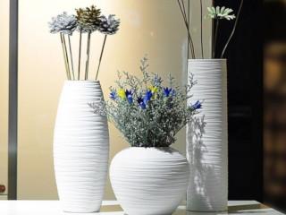 вазы белые в интерьере фото