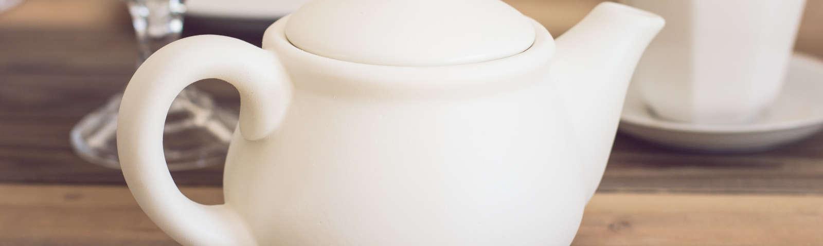 заварник фарфоровый белый фото
