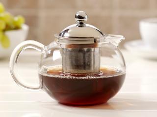 стеклянный заварочный чайник фото