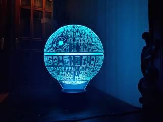 3D светильник фото