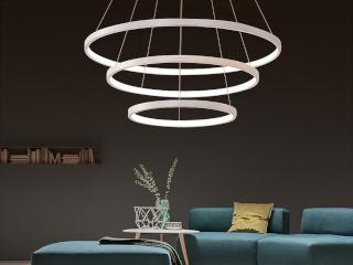 фото люстры с LED лампочками