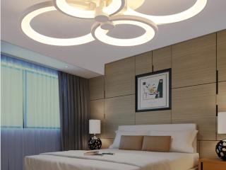 фото люстры потолочной светодиодной
