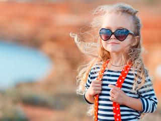 очки для девочек фото