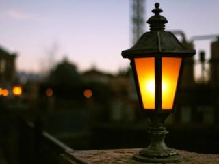 фото фонаря уличного