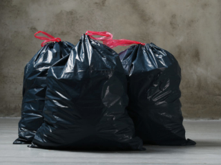 мусорные пакеты фото