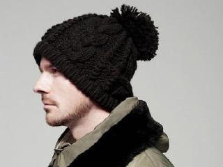 шапка с помпоном мужская фото