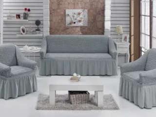 чехлы на диван и кресла универслаьные фото