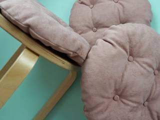 Мягкие сидушки на стулья фото